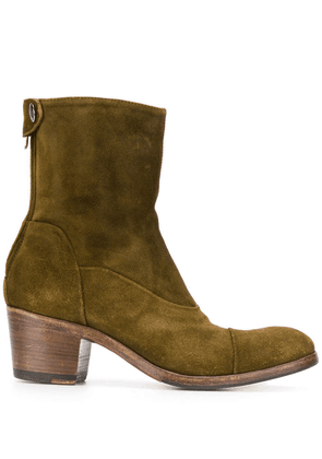 Alberto Fasciani suede ankle boots - Green