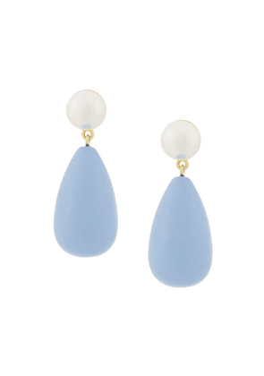 Eshvi teardrop earrings - Blue
