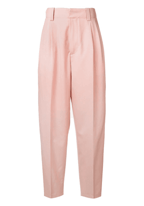 Marni high-waist tapered trousers - Pink