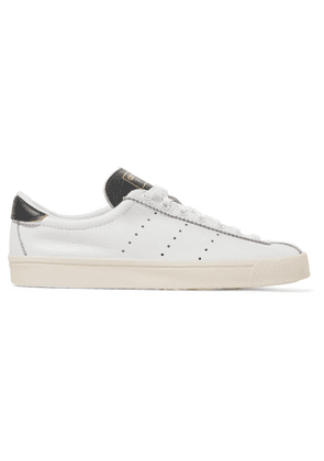 adidas Originals - Lacombe Textured-leather Sneakers - White