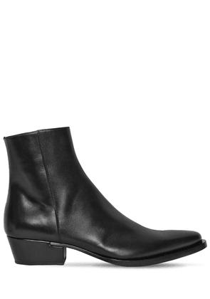 40mm Dallas Leather Boots