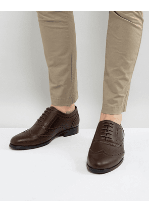 Brave Soul Brogues In Brown