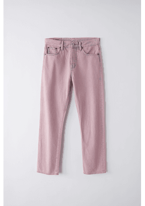Acne Studios Mece Pink Blue/pink Straight fit jeans