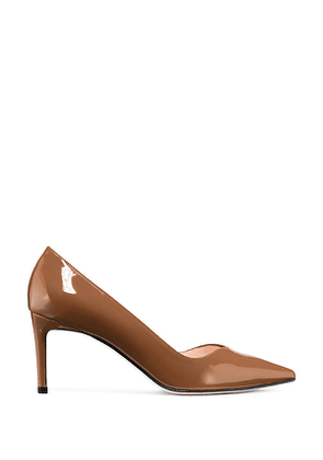 Stuart Weitzman - The Anny 70 Pump In Cappuccino - Size 38