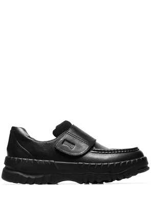 Camper Lab chunky leather loafers - Black