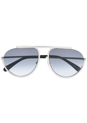 Givenchy Eyewear Pilote sunglasses - Silver