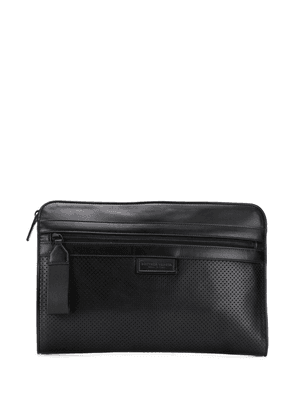 Bottega Veneta Intrecciato weave briefcase - Black