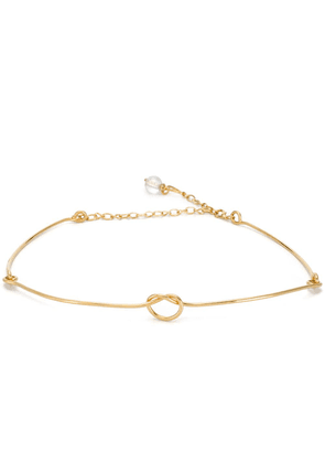 Marni knot necklace - Gold