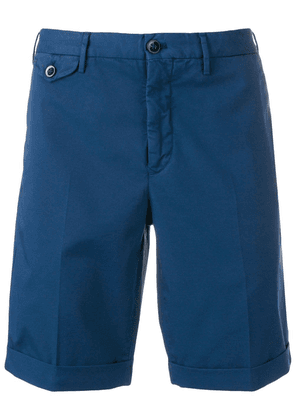 Incotex Batabia chino shorts - Blue