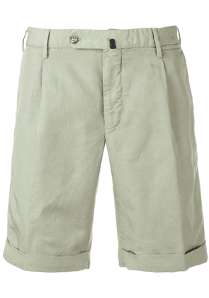 Incotex pences chino shorts - Green