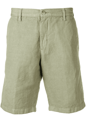 Massimo Alba tailored chino shorts - Green