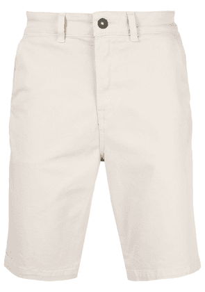Hudson chino knee-length shorts - Neutrals