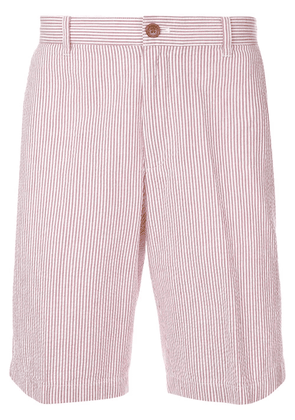 Kent & Curwen Seersucker shorts - Red