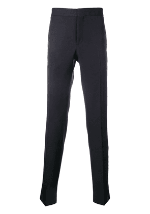 Saint Laurent tuxedo trousers - Blue