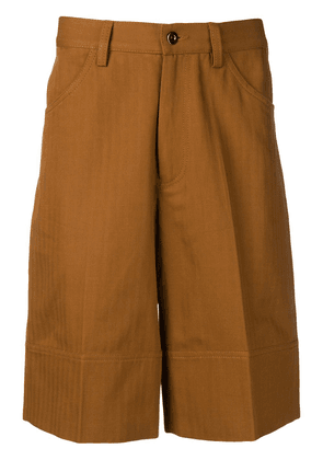 Qasimi tailored deck shorts - Brown