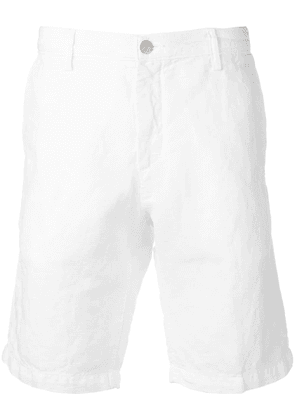 Massimo Alba tailored chino shorts - White