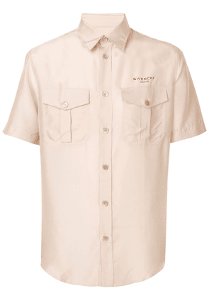 Givenchy logo button-up shirt - Pink
