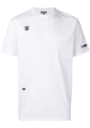 Lanvin embroidered T-shirt - White