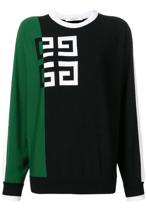 Givenchy classic logo sweater - Black