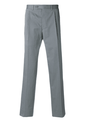 Canali loose tailored trousers - Grey