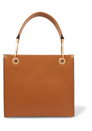 Marni - Square Leather Tote - Brown