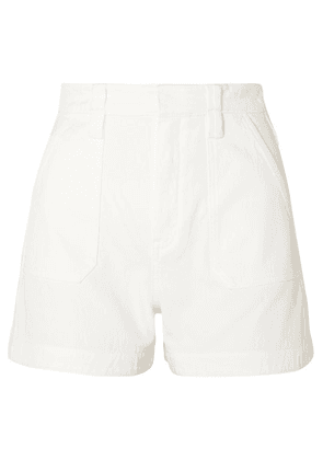 Chloé - Stretch-denim Shorts - White