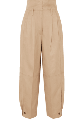 Givenchy - Woven Tapered Pants - Beige