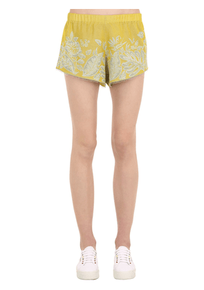 Hawaiian Dream Jacquard Shorts
