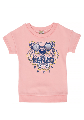 Kenzo Kids Tracksuit dress with a tiger head