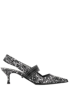 Dorothee Schumacher pointed slingback pumps - Black