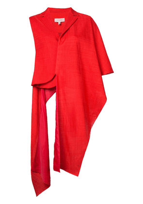 Delpozo shawl jacket - Red