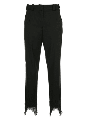 Christopher Esber Icon beaded cuff trousers - Black