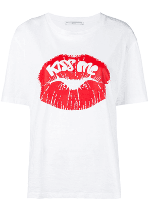 Ermanno Scervino kiss me T-shirt - White