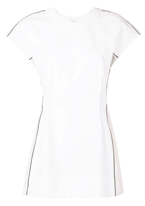 Marni contrasting panel blouse - White