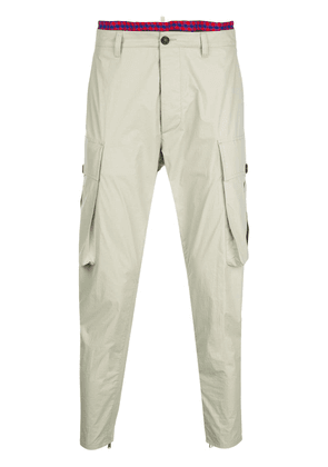 Dsquared2 tapered cargo style trousers - Neutrals