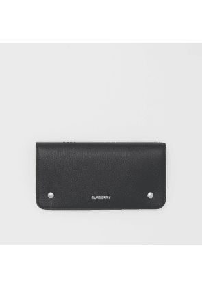 Burberry Leather Phone Wallet, Black
