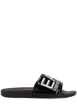 Logo Rubber Slide Sandals