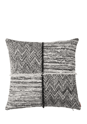 Wattens Wool Blend Jacquard Pillow