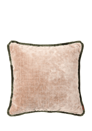 Tibet Cotton & Viscose Velvet Pillow