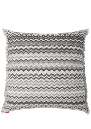 Wipptal Cotton Blend Jacquard Pillow