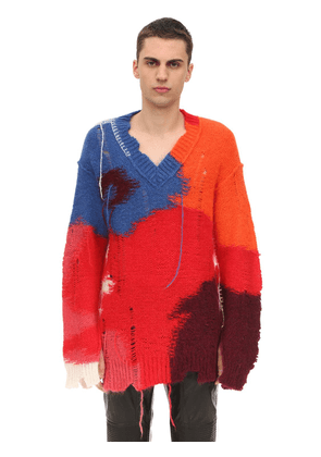 Oversized Wool Mohair Sweater