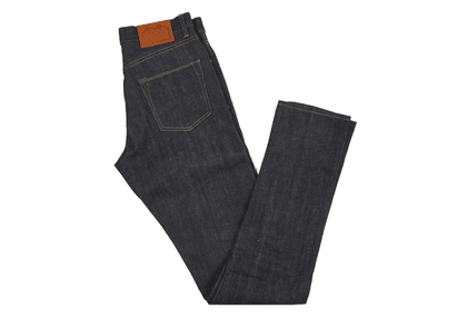 Indigo E8 Super Slim Tapered Selvedge Denim Jean