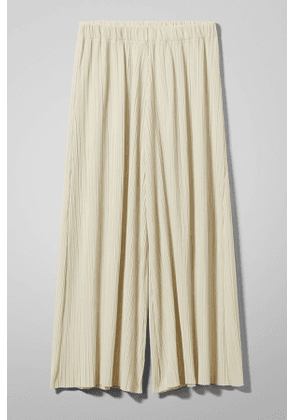 Wassily Pleat Trousers - Beige
