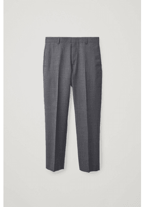 SLIM-FIT TAILORED TROUSERS