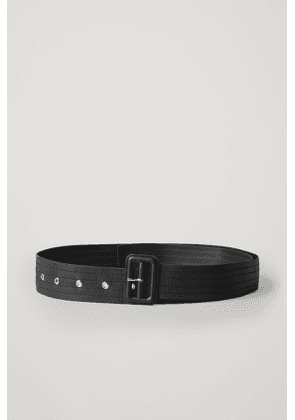 TRENCH-STYLE LEATHER BELT