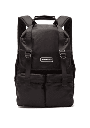 Ami - Padded Backpack - Mens - Black