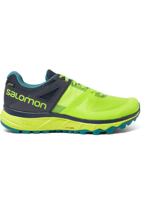 Salomon - Trailster Gore-tex And Mesh Running Sneakers - Yellow