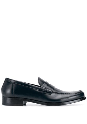 Doucal's classic polished loafers - Blue
