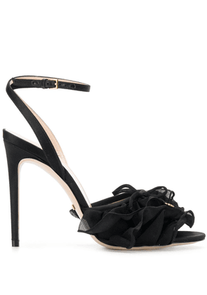 Gucci tulle sandals - Black