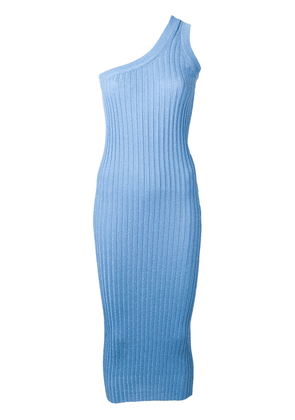 Circus Hotel one shoulder dress - Blue